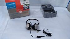 Sennheiser MM 30 Behind the Neck Headphones Mic Headset 2.5mm 4 Pole Motorola