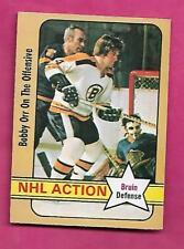 1972-73 OPC # 58 BRUINS BOBBY ORR ACTION  EX-MT CARD (INV# J0258)