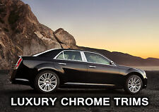 Chrysler 300 300C Stainless Chrome Pillar Posts by Luxury Trims 2011-2016 (6pcs)