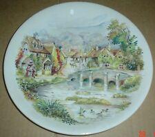 Poole Collectors Plate A Nostalgic Scene #2