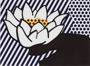 Roy Lichtenstein Waterlily Giclee Art Paper Print Paintings Poster Reproduction