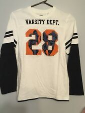 Gymboree NWT Football Champ Varsity dept Long Sleeve Shirt Size 12