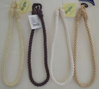 """Curtain & Chair Tie Back- 23""""spread rope - ~1/2"""" wide - 4 colors to choose from!"""