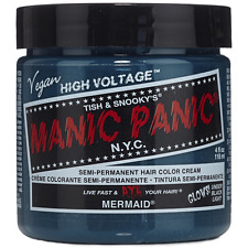 Manic Panic Semi-Permanent Hair Color Cream, Mermaid 4 oz