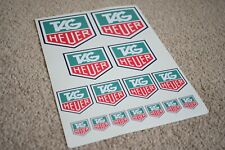 TAG T A G HEUER Motorsport Race Rally Car F1 Formula One Decal Stickers