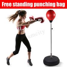 Adjustable Free Standing Punching Speedball Fitness Boxing Punching Bag