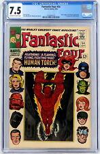 Marvel Comics Fantastic Four #54 CGC 7.5 1st Evil Eye Lee Kirby Sinnott 1966
