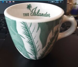 ISLANDER COFFEE CUP WALLACE CHINA BANANA LEAF PATTERN EXCELLENT