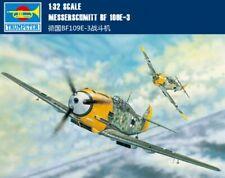 Trumpeter 1/32 02288 Messerschmitt Bf 109E-3  model kit ▲▲