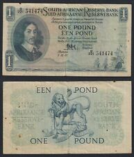 South African 1 Pound 1955 BB / VF C-05