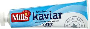 "Norwegian ""Mills Kaviar"" tube 185 gr. The original caviar from Norway since 1952"