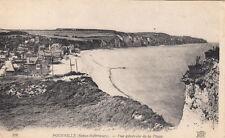 POURVILLE-SUR-MER 576 vue générale de la plage écrite 1919