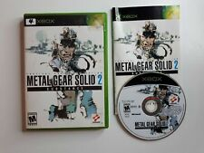Metal Gear Solid 2 Substance MINT DISC Microsoft Xbox Complete CIB Fast Ship!!!