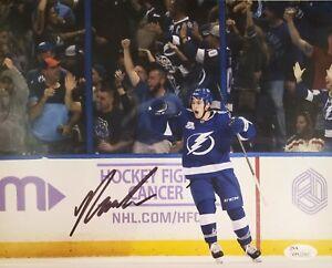 Yanni Gourde Signed Autographed 8x10 Tampa Bay Lightning JSA