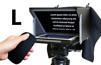 """Teleprompter Black Fish L. Prompter for max. iPad Pro 11"""", Tablet, iPhone, Phone"""