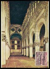 SPAIN MK 1965 TOLEDO ST. MARIA CHURCH KIRCHE CARTE MAXIMUM CARD MC CM az77