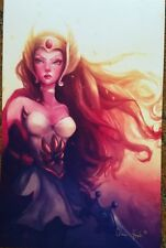 2018 SDCC LEANNE HUYNH SHE-RA ART PRINT SIGNED POSTER HE-MAN PRINCESS OF POWER