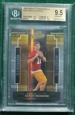 Aaron Rodgers rookie card BGS 9.5 Gem Mint - 2005 Absolute #d /999 Packers RC