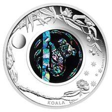 2012 Opal Series Koala 1oz Silver Proof Coin