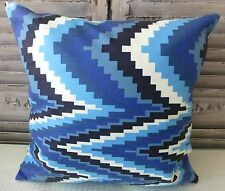 Illusion Blues cushion cover 45x45