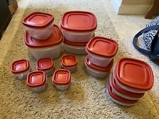 New listing Rubbermaid Food Storage Containers 28 Pieces