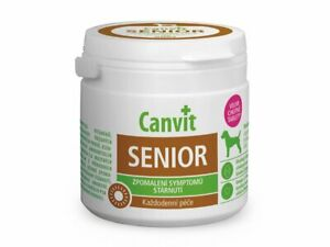 Genuine Canvit Senior Vitamins Dogs Food Supplement older dogs 100g