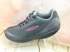 c142b58ee726 MBT 400284-133 Mahuta Gull Gray Purple Toning Orthotic Sneaker Shoe 6 6.5 M