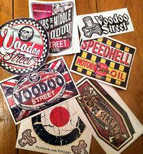 KUSTOM sticker pack, vintage, patina, rat, splitty, occult, voodoo, speed shop