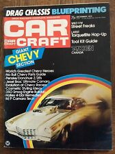 1974 Car Craft NHRA Drag Racing Chevy Issue Jenkins Penske Donohue Bagshaw Stahl