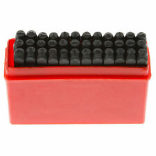 "New 36pc Alphabet Letter & Number Steel Stamp Die Punch Stamp 1/8"" Tool Set-3Mm"