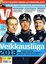 2013 Finland Football - IS Veikkaaja Liiga - Finnish Season Preview Magazine