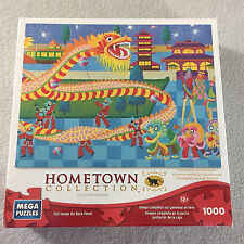 Hometown Collection Heronium Dragon Dance Jigsaw Puzzle Mega 1000 Pc New Sealed