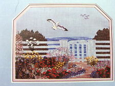 Garden by the Sea Counted Cross Stitch Chart Pack
