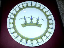 Disney 50th Anniversary Tomorrowland #2 of 6 Collectible Crown Dessert Plate New