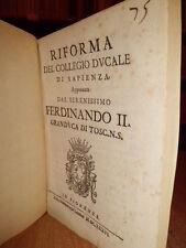 Bandi.RIFORMA del Collegio Ducale di Sapienza, approvata dal Serenissimo...1636