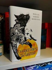 Darkdawn (Nevernight #3) Jay Kristoff 1st/1st Signed Limited Edition Yellow...