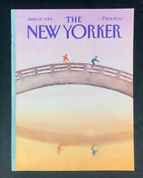 COVER ONLY ~ The New Yorker Magazine, June 18, 1984 ~ Susan Davis