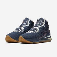 Nike Lebron 17 College Navy/Gum 2020 LeBron James Mens Basketball All NEW