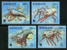 Kiribati: 1998 WWF Spiny Lobster (715-718) MNH