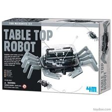 (CLASSPACK OF 12) TOYSMITH 4M 5576 TABLE TOP ROBOT KIT (non-solder) AGES 8+