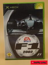 F1 2002 - EA Sports / X-BOX Spiel / gebraucht, Funktion getestet