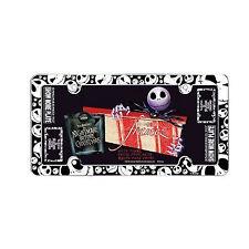 Disney Jack Skellington Nightmare Before Christmas License Plate Frame 1PC
