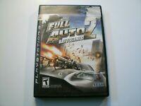 Full Auto 2: Battlelines PS3 (Sony PlayStation 3, 2006)