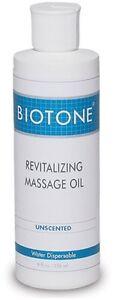 Biotone Revitalizing Massage Oil 8 oz.