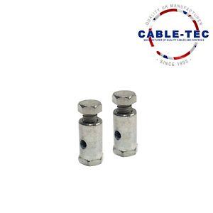 2 X 6MM DIAMETER SOLDERLESS NIPPLE   Cable Tec
