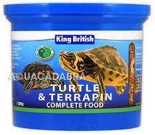 @ King British Tartaruga & Terrapin 200g Completo Cibo Pellet gamberetti acquario