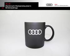 Audi Original Tasse schwarz 3291900500 Kaffeetasse Fanartikel Spülmaschinen fest
