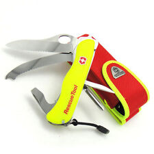 0.8623.MWN Victorinox Swiss Army Knife 111 mm Blade Pocket Rescue Tool + POUCH !