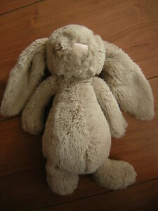 JELLYCAT BEIGE BUNNY RABBIT WITH WHISKERS SOFT TOY