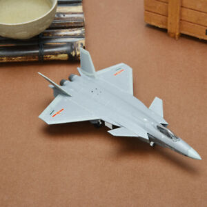 Premium 1:144 Scale J-20 Fighter Army Model Airplane Decoration for Adults